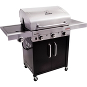 Char-Broil Performance Series 3 Burner Infrared LP Gas Grill with Cabinet