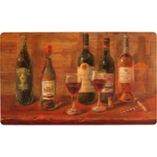 Mohawk Home Wine Tasting Table Kitchen Mat 18x30