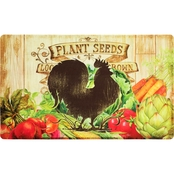 Mohawk Home Farm Friends Rooster Kitchen Mat 18x30