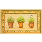 Mohawk Home Potted Herb Garden Kitchen Mat 18x30