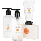 Martha Stewart Collection Calamondin Orange Scented Soap and Lotion 4 Pc. Gift Set