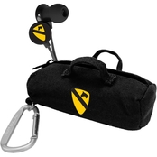 AudioSpice 1st Cavalry Division Scorch Earbuds with BudBag, Clamshell
