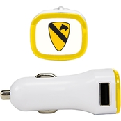 QuikVolt 1st Cavalry Division 2 Port USB Car Charger