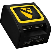 QuikVolt 1st Cavalry Division WP 400X 4 Port USB Wall Charger