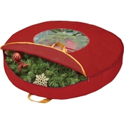 Simplify 36 In. Wreath Storage Bag