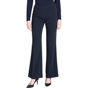 Calvin Klein Collection Wide Leg Side Zip Pants