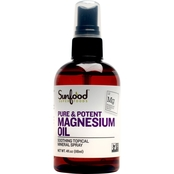 Sunfood Magnesium Oil Spray, 4 Oz.