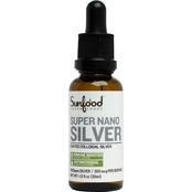 Sunfood Super Nano Silver, 1 Oz.