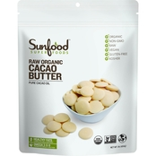 Sunfood Cacao Butter, 1 Lb.