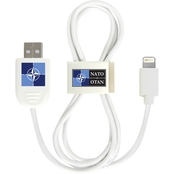 QuikVolt NATO Lightning USB Cable with QuikClip