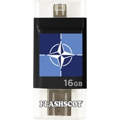 Flashscot NATO iFlash Drive HD USB Drive, 16GB