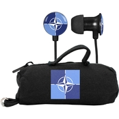 AudioSpice NATO Scorch Earbuds with BudBag