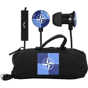 AudioSpice NATO Scorch Earbuds with Mic and BudBag