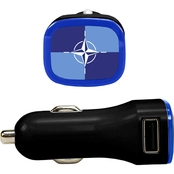 QuikVolt NATO 2 Port USB Car Charger