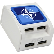 QuikVolt NATO 4 Port USB Wall Charger
