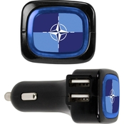 QuikVolt NATO 4 Port USB Car Charger