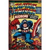 Marvel Captain America Area Rug