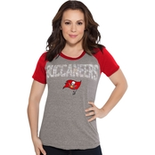 Touch by Alyssa Milano NFL Tampa Bay Buccaneers Women's Conference Tee