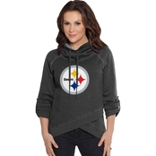 Touch by Alyssa Milano NFL Pittsburgh Steelers Women's Wildcard Top