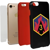 Guard Dog 3rd Chemical Brigade Hybrid Case for iPhone 7 with Guard Glass