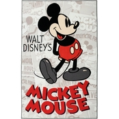 Disney Mickey Mouse Classic Area Rug