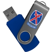 Flashscot 10th Mountain Division Revolution 8GB USB Drive