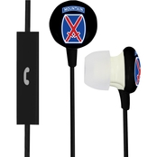 AudioSpice 10th Mountain Division Ignition Earbuds with Mic