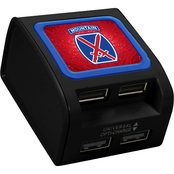 QuikVolt 10th Mountain Division 4 Port USB Wall Charger