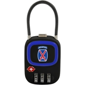 ZGadget 10th Mountain Division TSA Combination Lock