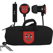 AudioSpice 7th Special Forces Division Scorch Earbuds and Mic with BudBag