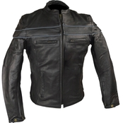 Vance Leathers Premium Leather Racer Jacket