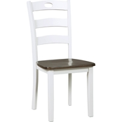 Signature Design by Ashley Woodanville Dining Side Chair 2 Pk.