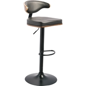 Signature Design by Ashley Adjustable Height Swivel Bar Stool