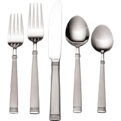Pfaltzgraff Palisade Frost 80-Pc Flatware Set for 12