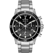 Bulova Men's Marine Star Chronograph Watch 96B272