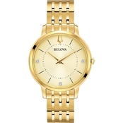 Bulova Women's Classic Diamond Dress Watch 97P123