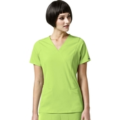 WonderWink High Performance Axis Mock Wrap Top
