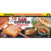 TeleBrands Red Copper Flipwich