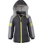 Ixtreme Infant Boys Colorblock Puffer Jacket