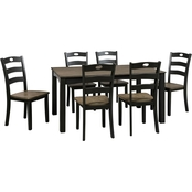 Signature Design by Ashley Froshburg Dining Room Table Set