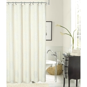 Dainty Home Rose Shower Curtain