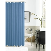 Dainty Home Hotel Waffle Shower Curtain
