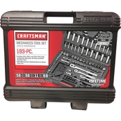 Craftsman 193 pc. Mechanics Tool Set