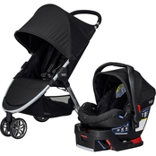 Britax 2017 B-Agile 3/B-Safe 35 Travel System