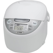 Tiger 10 Cup Micom Rice Cooker & Warmer, Steamer and Slow Cooker