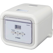 Tiger Microcomputer Controlled 3 Cup Rice Cooker and Bread Maker