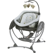 Graco DreamGlider Gliding Swing + Sleeper, Percy
