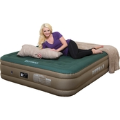 Pittman Outdoors Queen Fabric Ultimate 16 In. Air Mattress