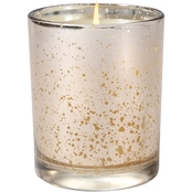 Aromatique Orange & Evergreen Metallic Candle