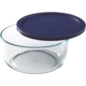 Pyrex Storage Plus 7 Cup Round Glass Dish with Lid